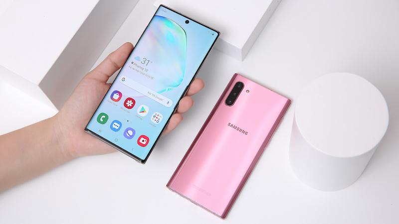 Điện thoại Samsung Galaxy Note 10+ | Màn hình phủ lớp HDR10+