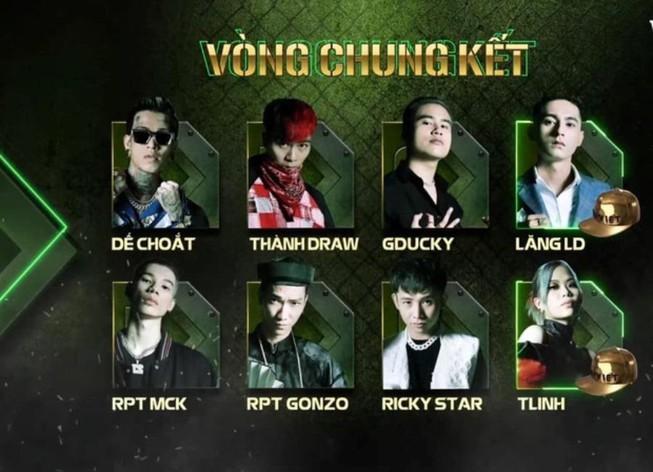 8 gương mặt sẽ xuất hiện trong chung kết Rap Việt là ai? | Xem-nghe-đọc |  PLO