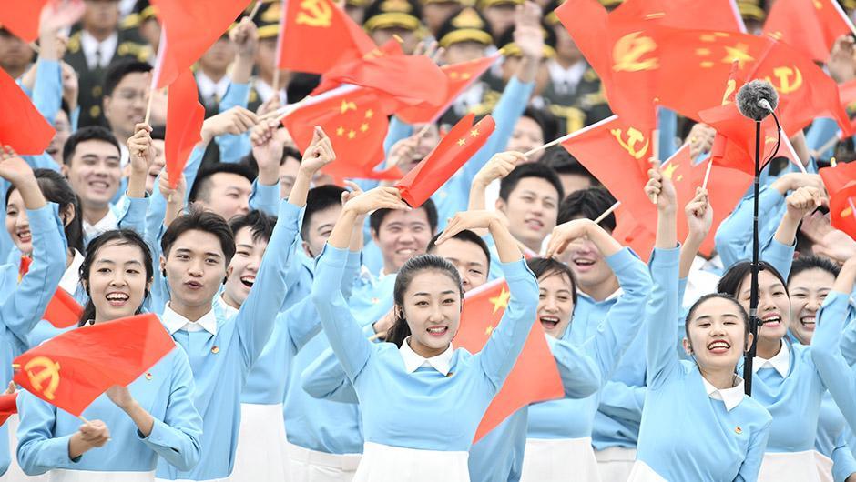 سخنرانی رهبر چین در مراسم گرامیداشت صدمین سالگرد تاسیس حزب کمونیست چین_fororder_1127614781_1625105997677_title0h