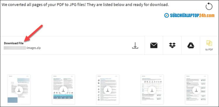 Nhấp vào Download File (ZIP)