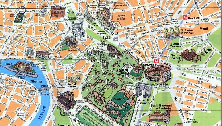 Roma Guia B 225 Sico E Mapas Viagem Decaonline Com Dicas