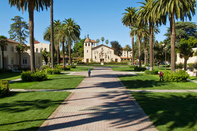 Santa Clara University Campus Map Santa Clara University is