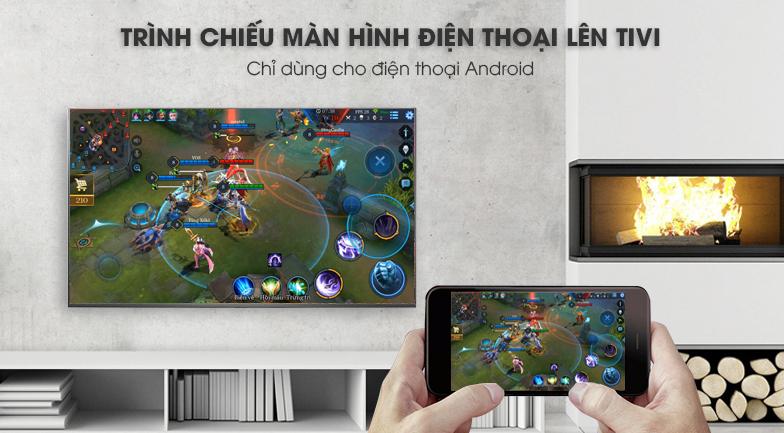ứng dụng Screen Mirroring Smart Tivi LG 4K 43 inch 43UK6340PTF