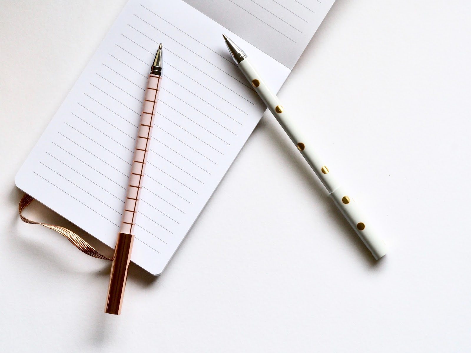 A notepad and pen is all you need to monitor your calorie intake.
