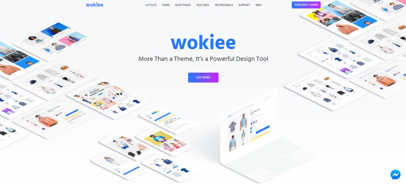 Wokiee- Shopify beauty theme
