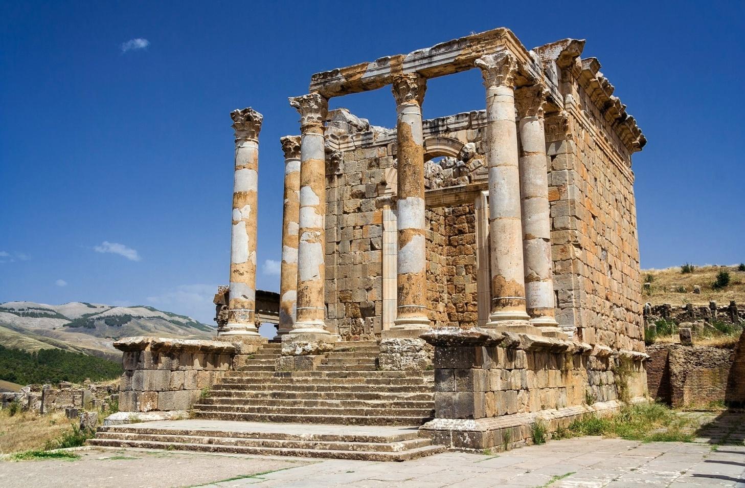 Image result for djemila ruins