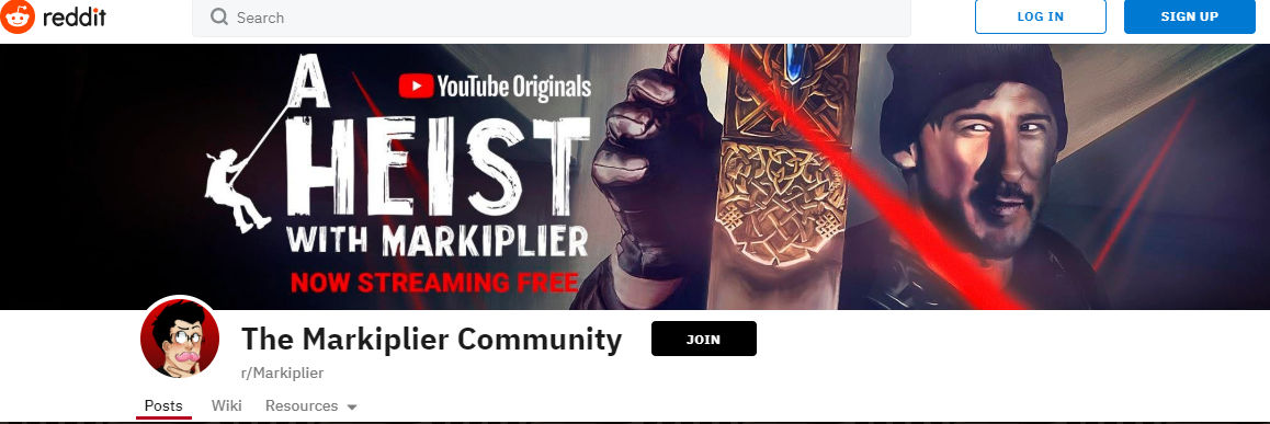 Markiplier's Reddit Community