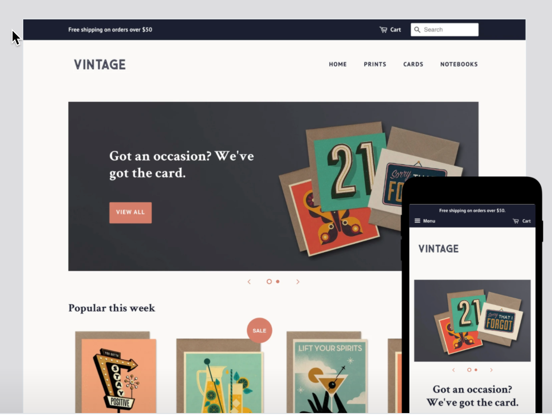 ecommerce with shopify and wordpress