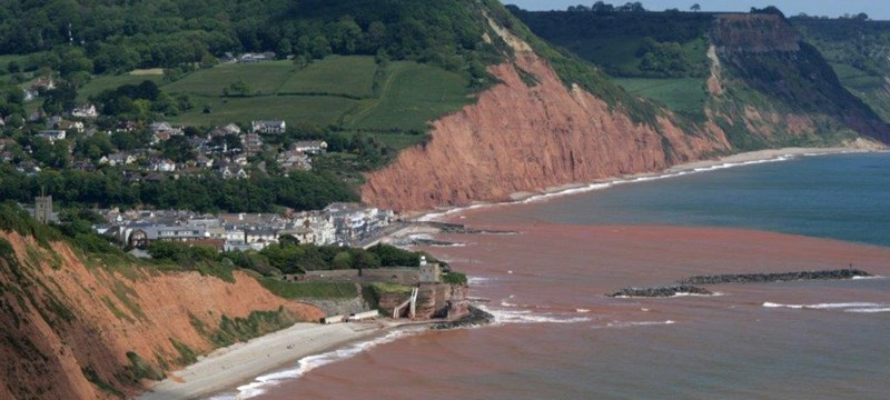 Sidmouth and East Beach