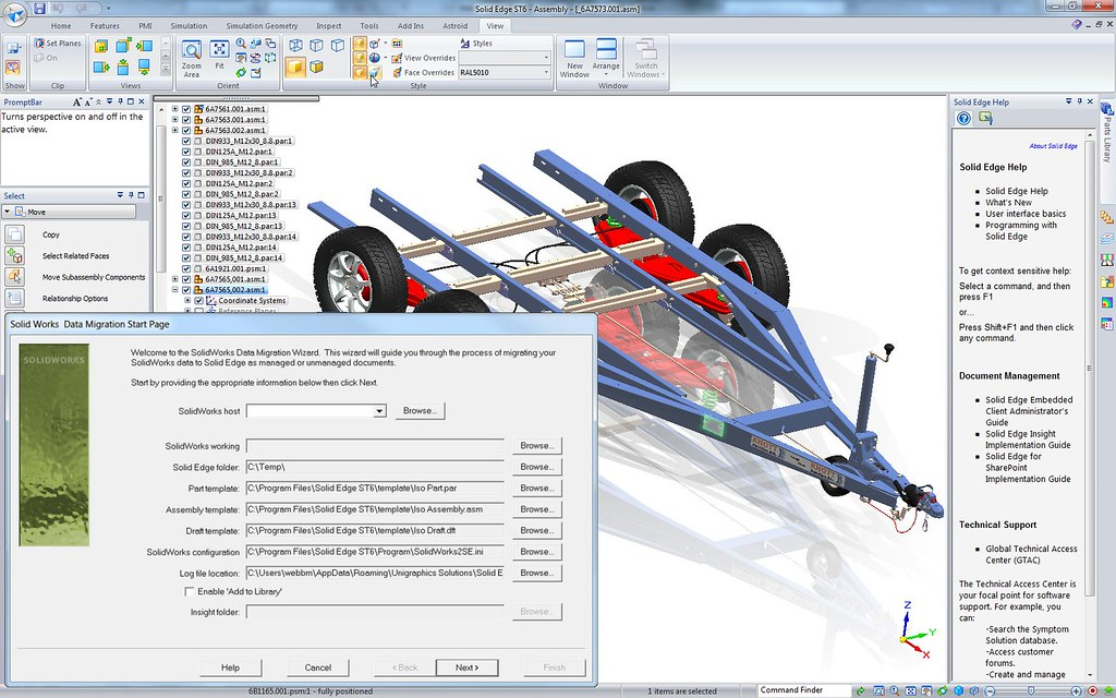 interface solidworks
