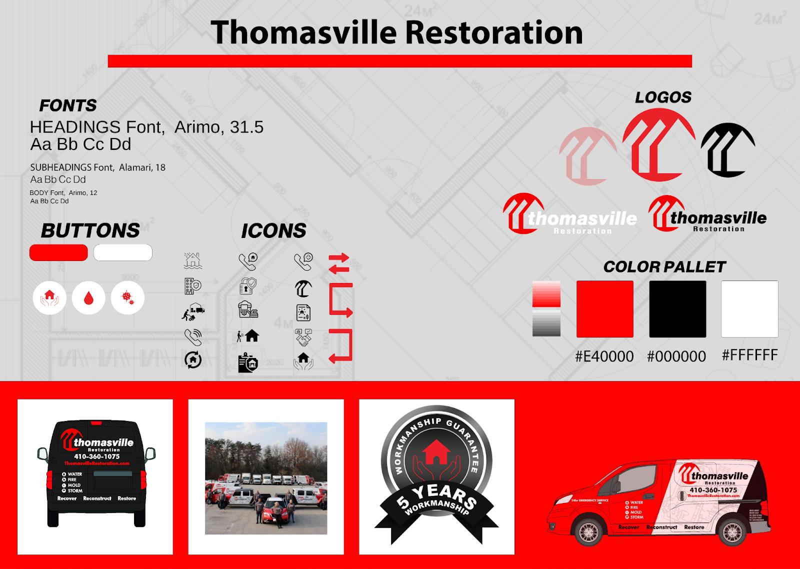 Thomasville Restoration Style Guide