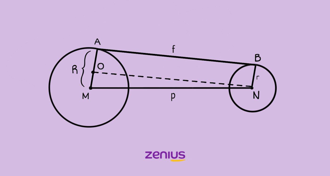 Rumus Menghitung Panjang Garis Singgung Pada Dua Lingkaran 102