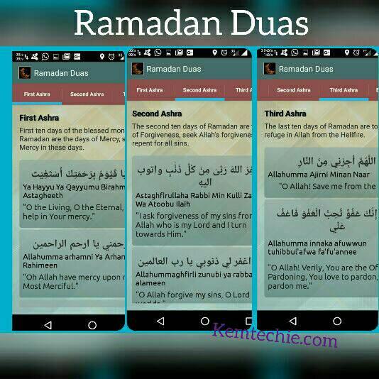 Ramadan duas app for Ramadan