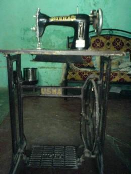 The good-old Usha Sewing Machine!