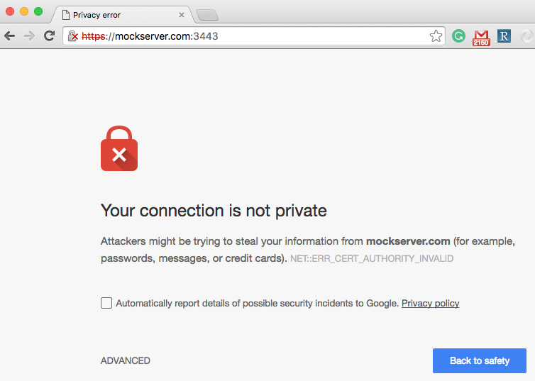 Node js and Self-signed SSL Certificates - Apigee Community