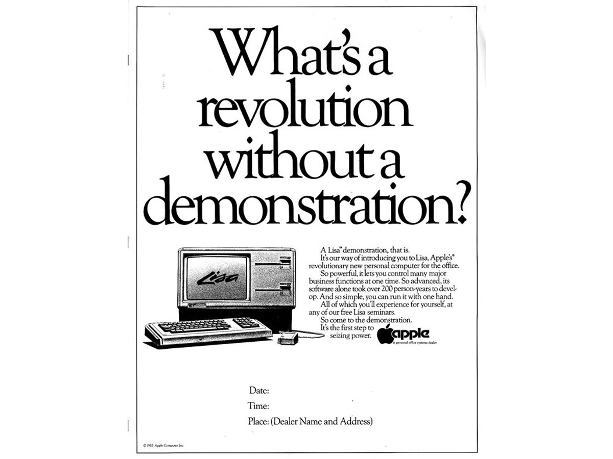 Apple used to offer in-office demonstrations.