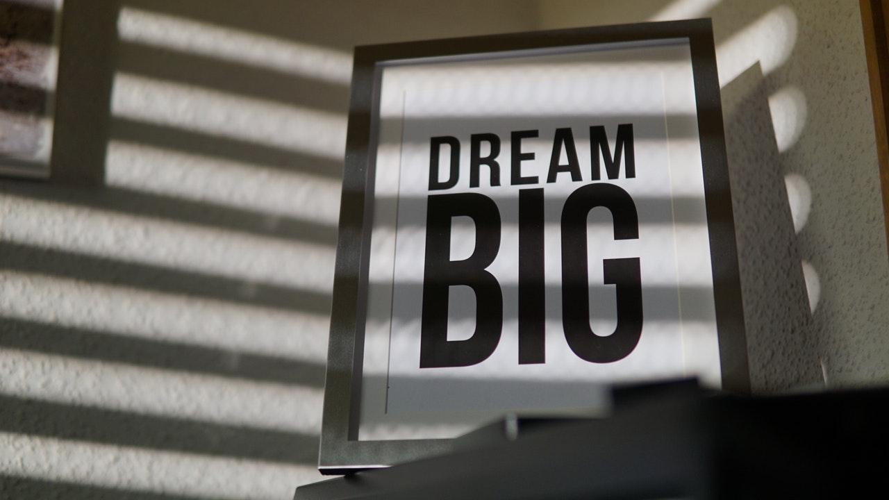 Dream Big im UI Design