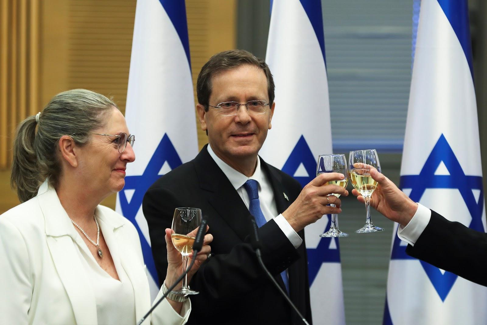 Former centre-left politician Herzog elected Israel's president   Reuters