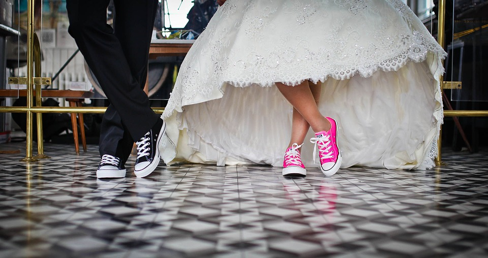 Marriage, Bridal, Wedding, Shoes, Wedding Dress