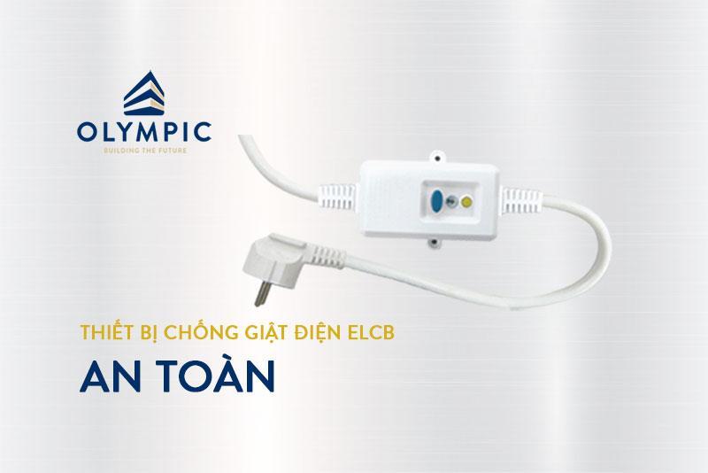 Thiết bị chống giật ELCB cho bình nóng lạnh