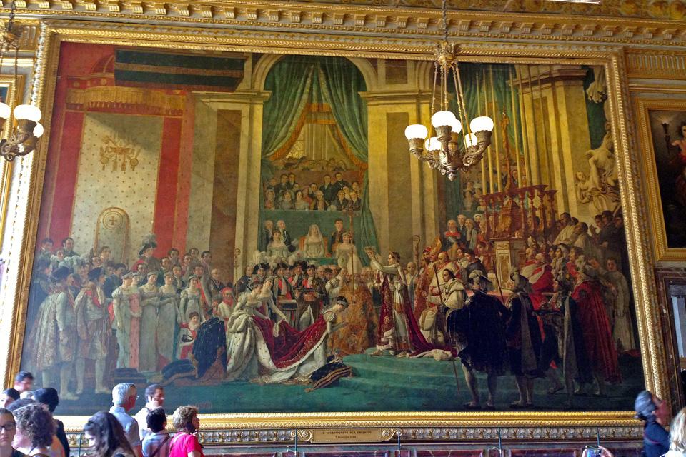 Лувр Посвящение императора Наполеона I