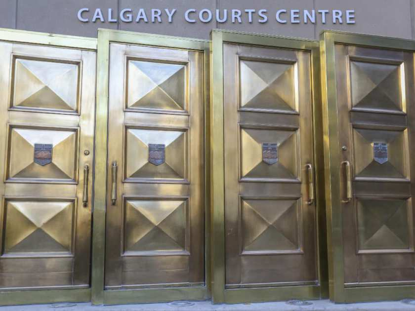 The Calgary Courts Centre.