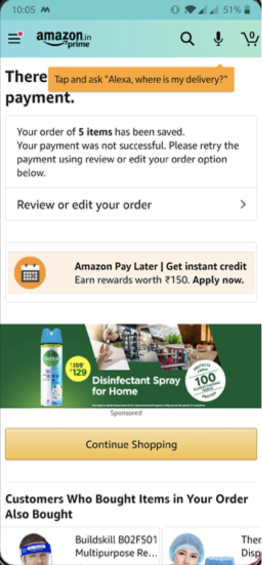 Amazon nudges its customers towards using Alexa more frequently