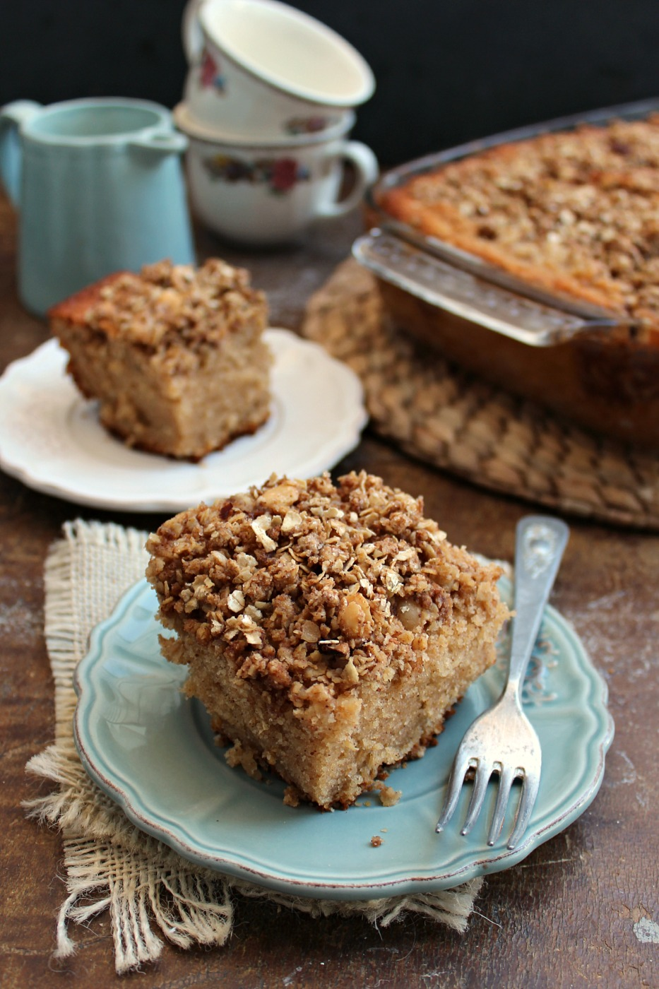 Lightened Up New York Crumb Cake