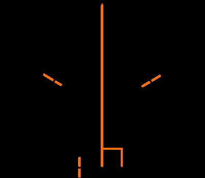 Площадь равностороннего треугольника через высоту