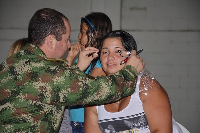 En el barrio Santander la brigada social Armenia Solidaria se vistió de fiesta