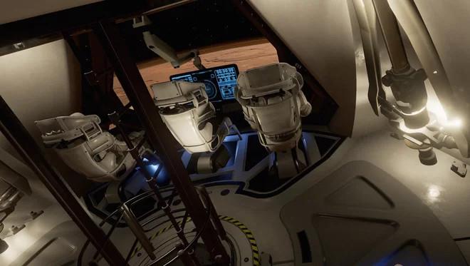 Người chơi sẽ đổ bộ lên bề mặt Sao Hỏa cùng hai phi hành gia khác.