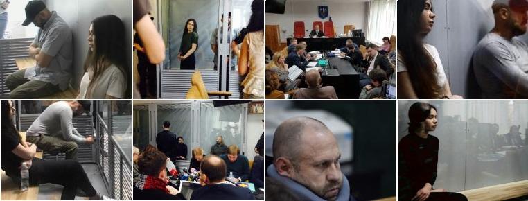 Фото: Зайцева и Дронов в суде