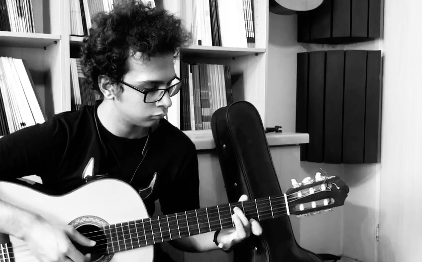 بولرياس ورژن کلاسیک نكيسا شاهبازى هنرجوی گیتار فرزین نیازخانی