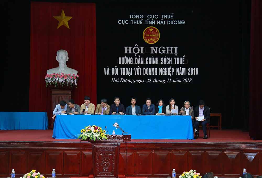 Hội đồng tư vấn của Cục Thuế tỉnh Hải Dương giải đáp