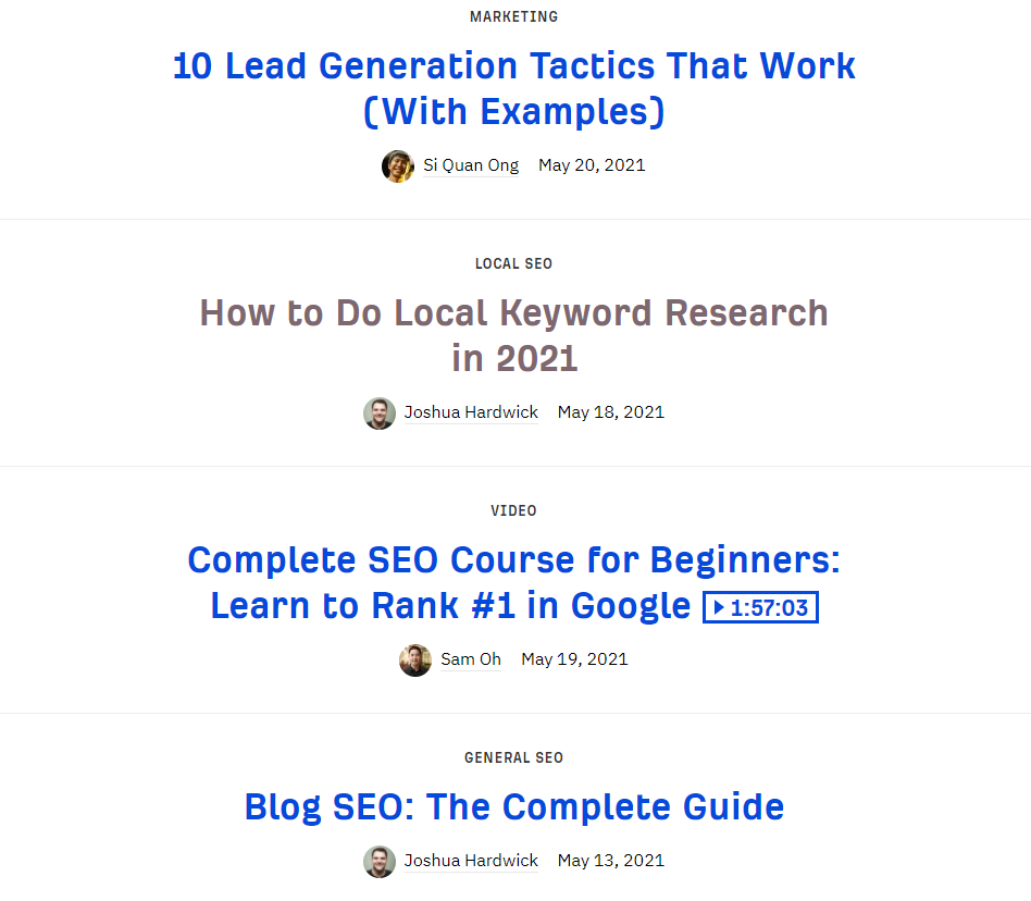 ahrefs content marketing example