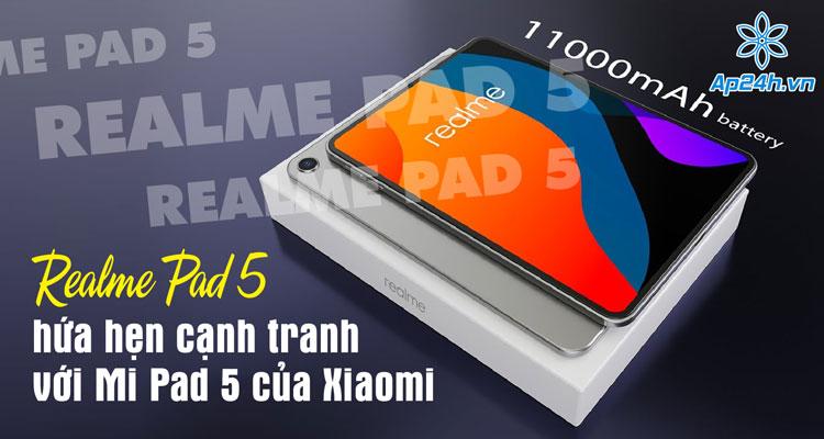 Realme công bố Realme Pad 5 với màn hình AMOLED