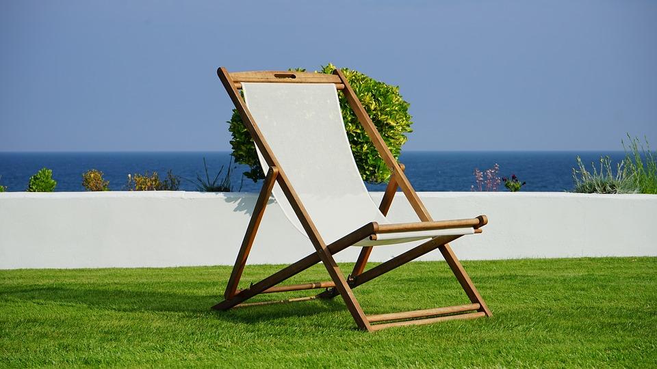 Deck Chair, Grass, Deck, Green, Garden, Chairs, Summer