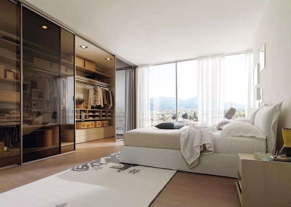 Phòng thay đồ trong phòng ngủ đẹp