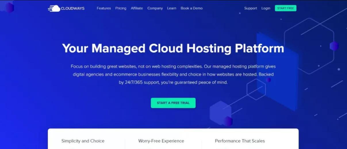 SEO Hosting - Managed Cloud Hosting Platform on CloudWays