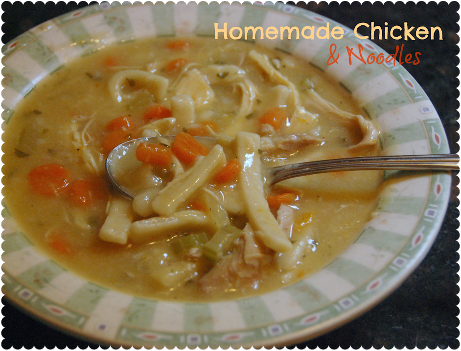 Chicken and Noodles – not at all to be confused with Chicken Noodle ...