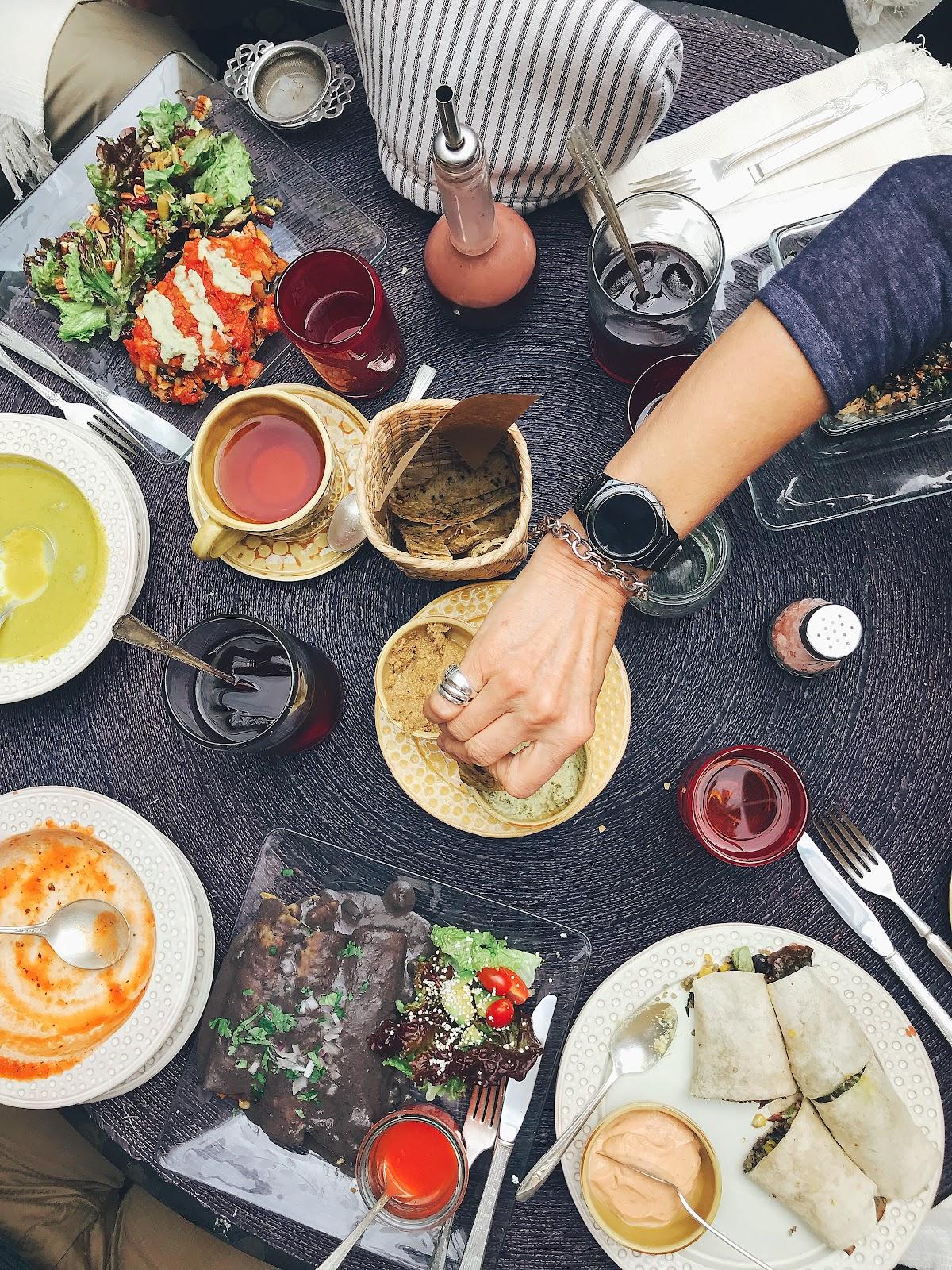 vegan lunch mexico gourmana
