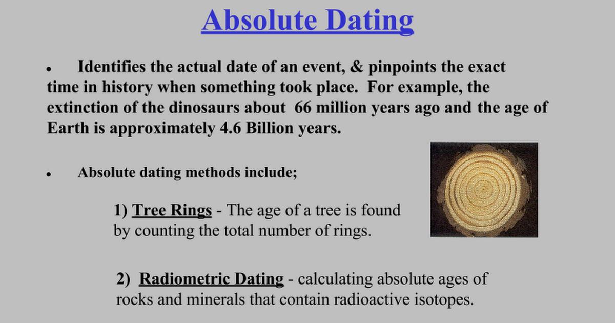 Radiometric dating ppt extream dating