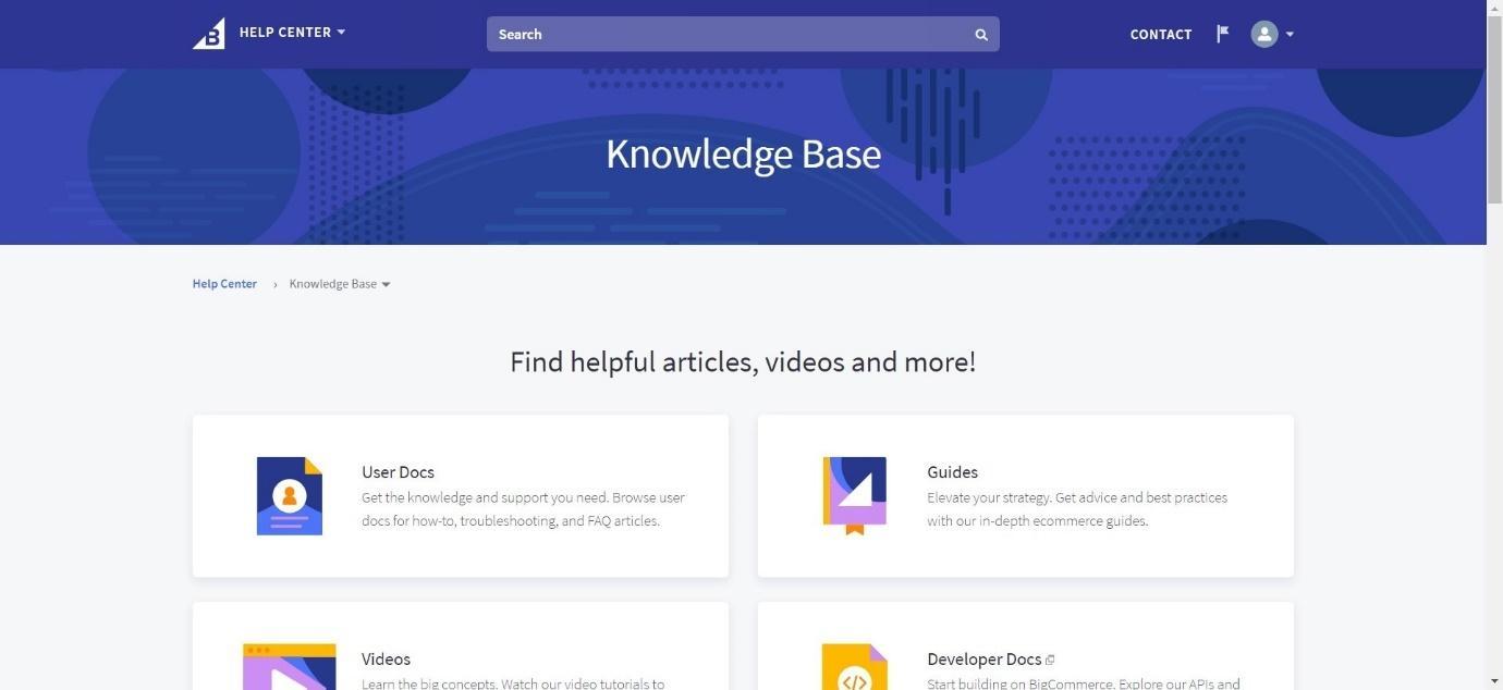 BigCommerce Knowledge Base
