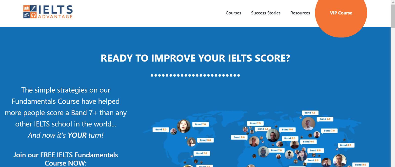 IELTS websites