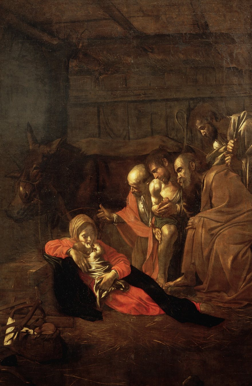 Adoration of the Shepherds-Caravaggio, 1609.jpeg