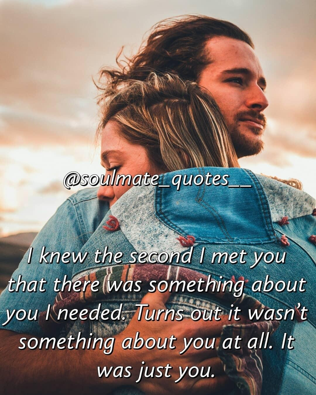 I met my soulmate quotes