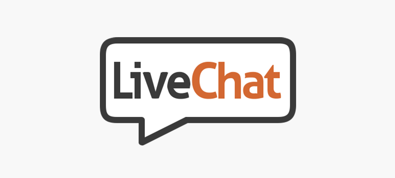 Using live chat software