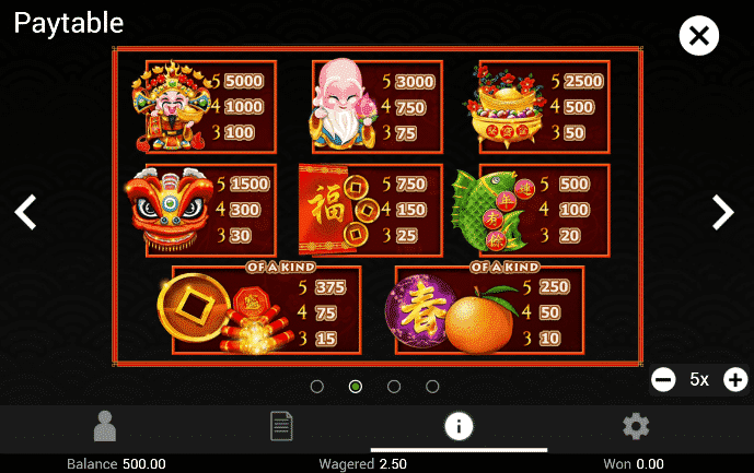 Play Gong Xi Fa Cai Slot > 10 Free Spins No Deposit