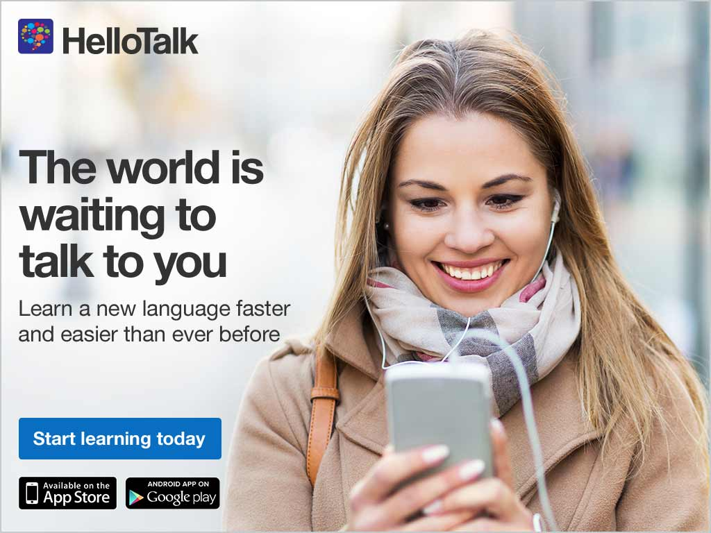 Are you learning a new language? Do you have a dictionary but need someone to practice with? Talk to a native speaker today.
