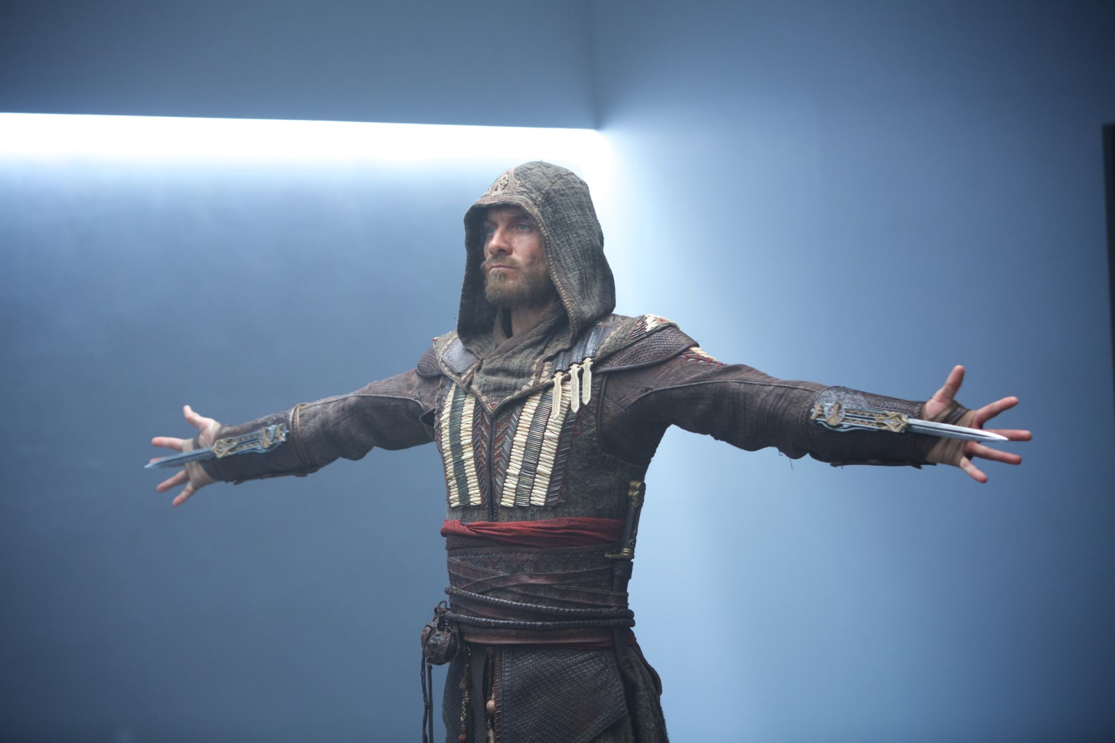 Michael Fassbender como protagonista de assassins creed
